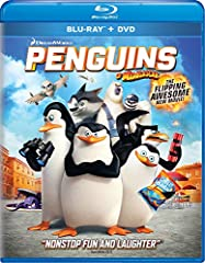 They're cute...they're cuddly...they're back! From the creators of Madagascar comes the hilarious new movie that proves global espionage is for the birds! In DreamWorks' Penguins of Madagascar, your favorite super-spies—Skipper, Kowalski, Ric...