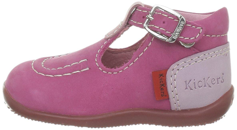 10ac6a9ad7ecc0 Kickers Bonbek, Chaussures bébé mixte bébé - Rose (Fuchsia Rose Parme), 23  EU: Amazon.fr: Chaussures et Sacs