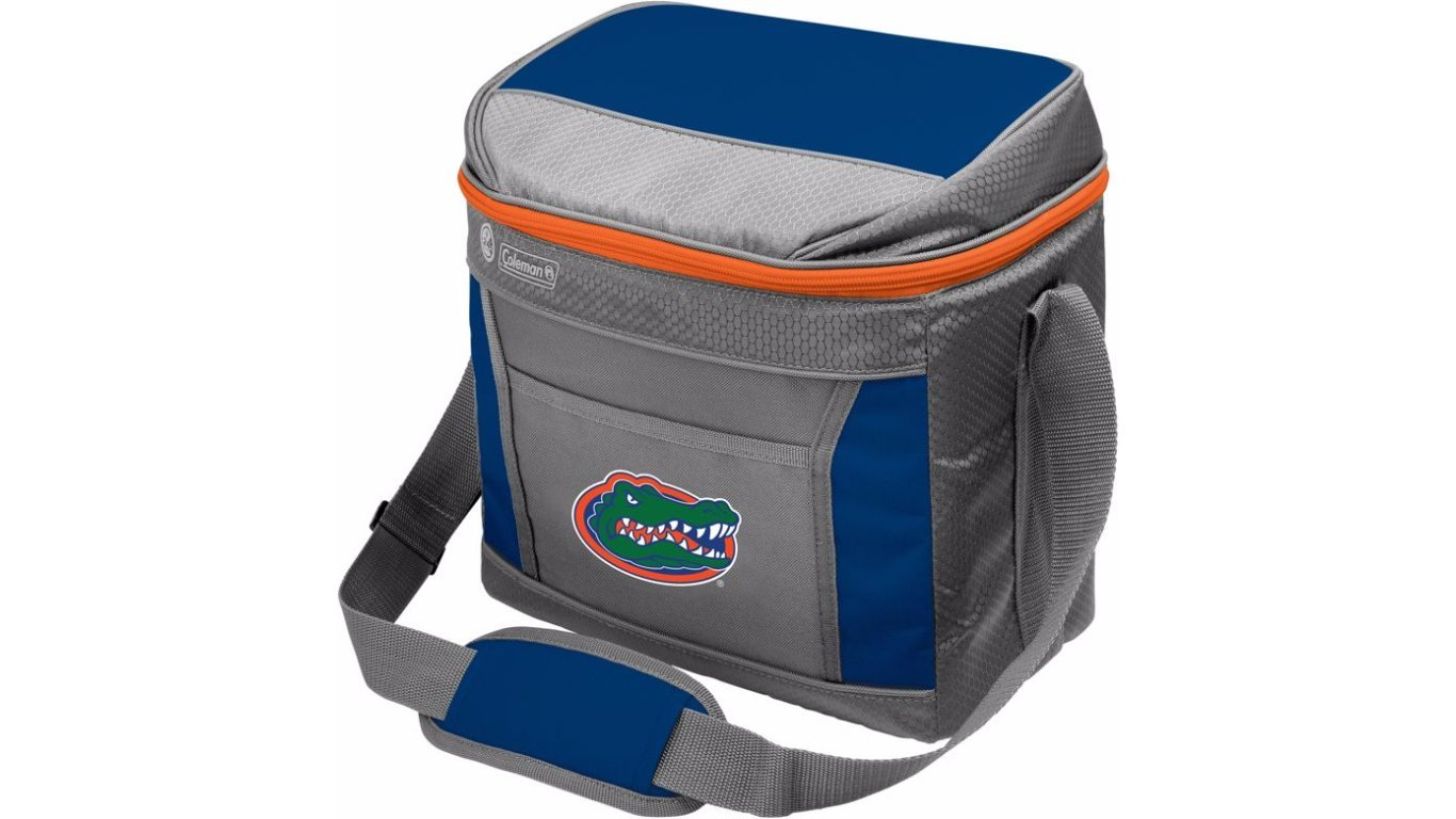 Coleman NCAA Soft-Sided Insulated Cooler Bag, 16-Can Capacity, Florida Gators