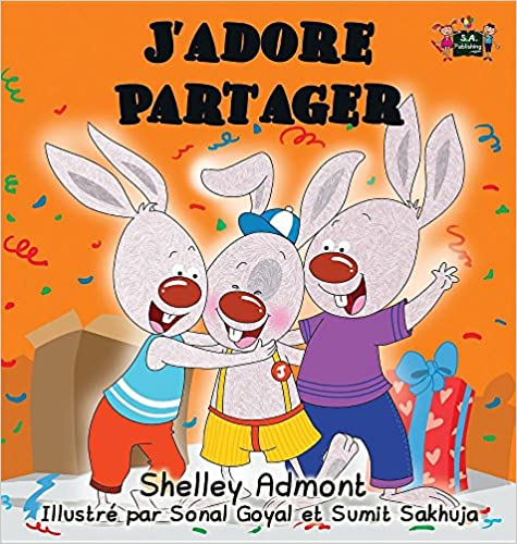 Book J'adore Partager: I Love to Share (French edition) (French Bedtime Collection)