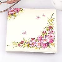 Onsinic 20pcs / Pack Flores Rosas diseño