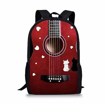 Amazon.com: Bolsas de fútbol 3D con diseño de guitarra ...