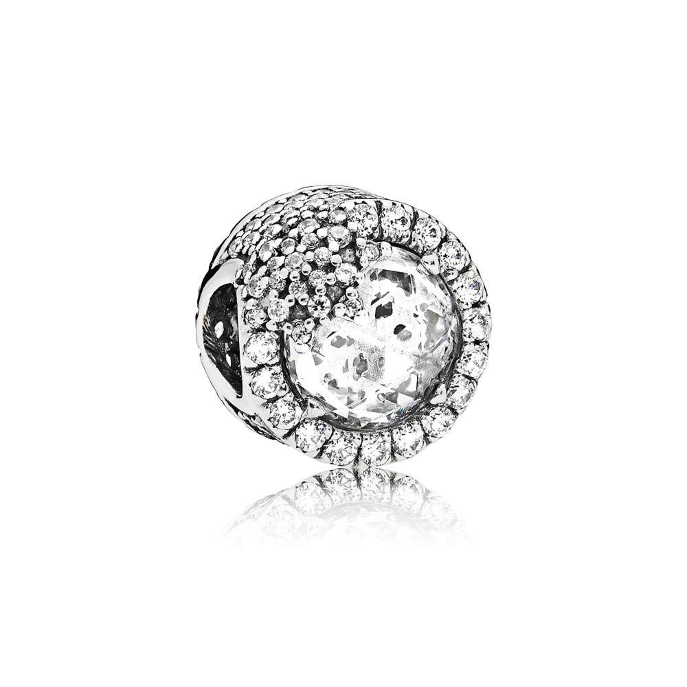 Pandora Dazzling Snowflake Silver Charm with Cubic Zirconia 796358CZ
