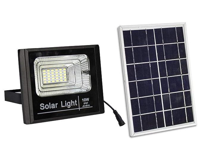 Luci a led per esterni con pannello solare: lampade a led per