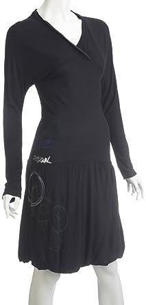 87181835e Desigual - Robe - Portefeuille - Femme - Bleu - 38: Amazon.fr ...