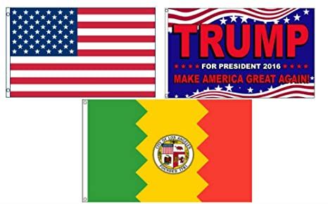Amazon com : ALBATROS 3 ft x 5 ft Trump 2016 with USA