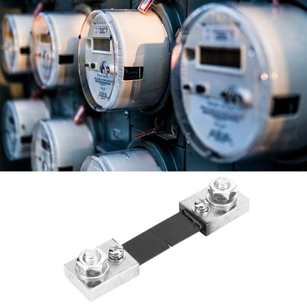Nitrip 50A 100A 100A Courant R/ésistance Shunt AMP 75mV FL-2 pour Amp/èrem/ètre Num/érique Analogique