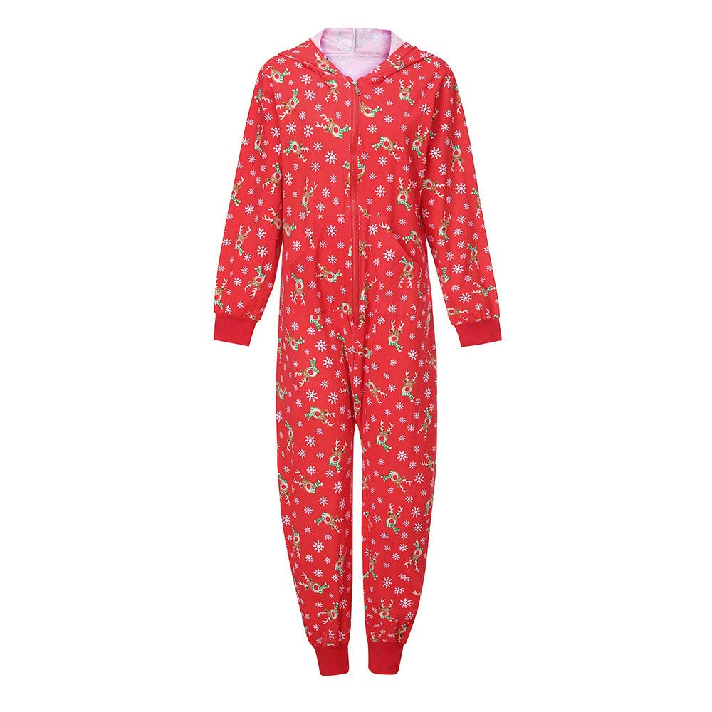 bf62acc9b460c Creative Family Pajamas Christmas Outfit, Familizo Hot! Fashion Popular  Parent-Child Suit Kid Baby Father Mother Hood Romper Jumpsuit Family  Pajamas ...