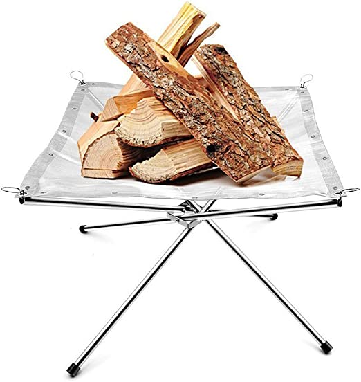 SUCHDECO Fire Mesh for Portable Fire Pit 16.5inch