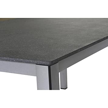 Mwh Elements Table 160 X 90 Cm Silvergrey Amazoncouk Garden U0026 Outdoors
