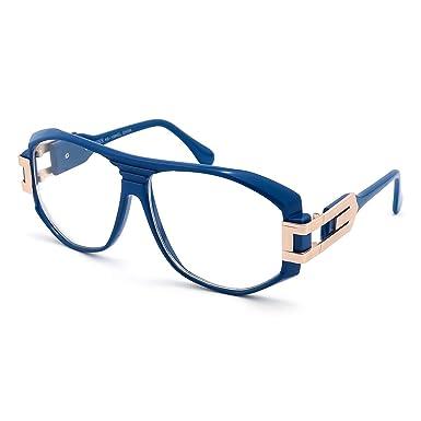 Kiss® lunettes de soleil - inspirés par le mod de style CAZAL SPÉCIAL - Old School HIP-HOP homme femme VINTAGE - ROUGE qj3TODn