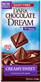 SunSpire Dream Milk Chocolate Bar, Creamy Sweet, 3 Ounce (Pack of 12)