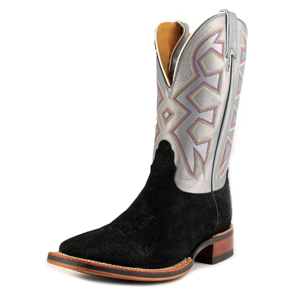 3a06aa00298 Nocona Men's Hippo Print Let's Rodeo Cowboy Boot Square Toe Black 7 ...