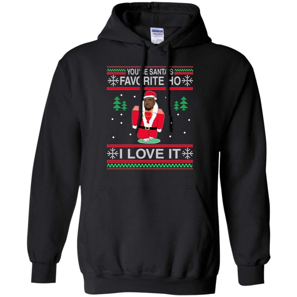 Kanye West You Re Santa S Favorite Ho I Love It Ugly Christmas Sweater Shirts