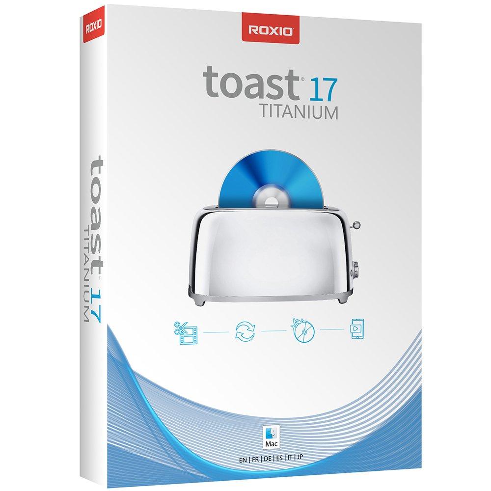 Toast 17 Titanium CD/DVD Burning Suite for Mac [Download]