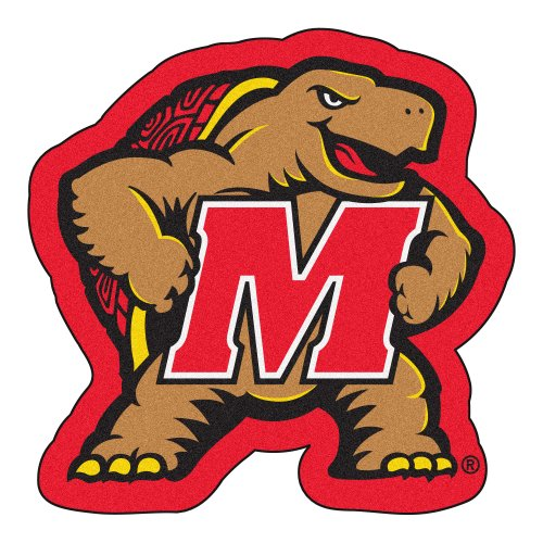 FANMATS NCAA University of Maryland Terrapins Nylon Face Mascot -