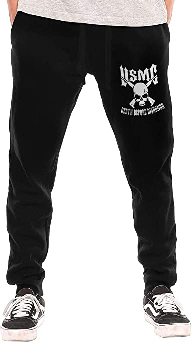 Boys Sweatpants Eagle Globe Anchor USMC Marine Corps Joggers Sport Training Pants Trousers Cotton Sweatpants for Youth