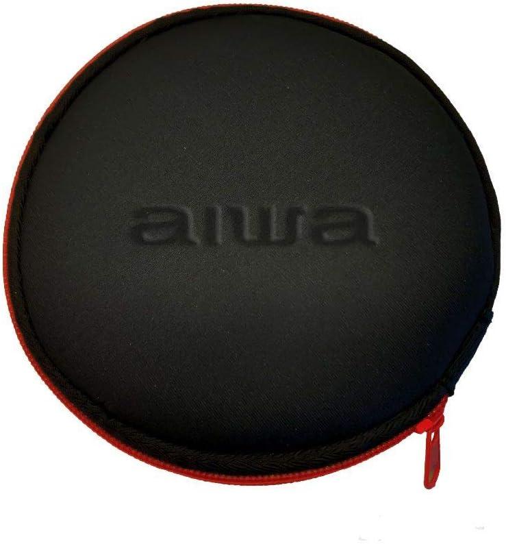 AIWA PCD-810RD Lecteur CD Rouge//Noir