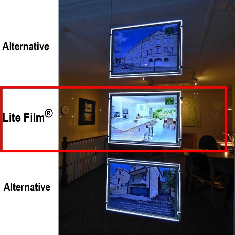 /£66,00 Lightbox IVA y entrega al d/ía siguiente est/á disponible - Papel//Lite retroiluminada para el bolsillo de luz LED//Luz LED Panel copiadoras // RTL49-100 hojas x A4 a para cualquier mjcls e impresoras Laser