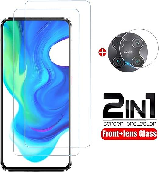 Image ofProtector de Pantalla Xiaomi Pocophone F2 Pro/Poco F2 Pro Cristal Templado [9H Dureza][Alta Definición][Fácil de Instalar] Vidrio Templado HD Protector Pantalla para Redmi K30 Pro (3 Piezas)