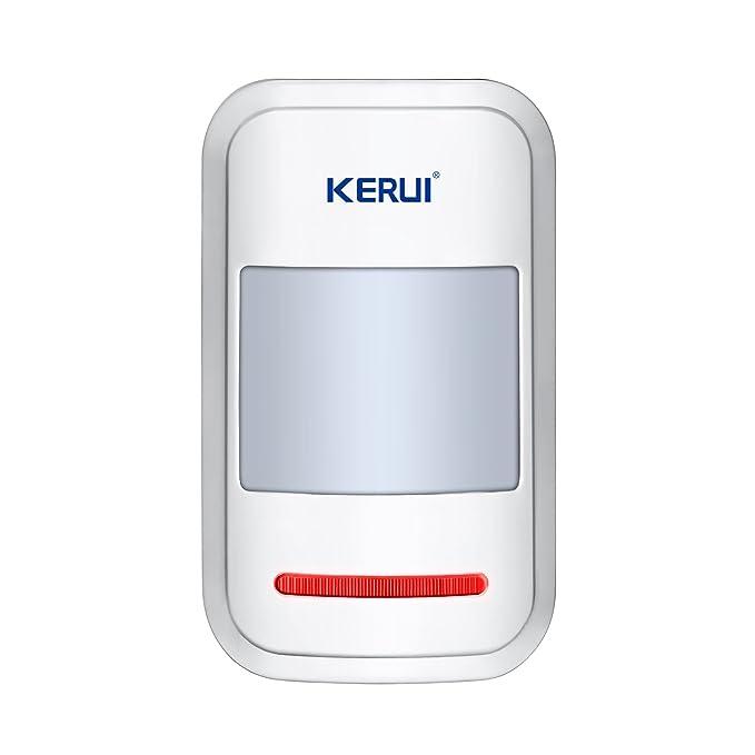 Kerui 8218G - Alarma para la casa, evita intrusiones, GSM/RTC inalámbrico: Amazon.es: Bricolaje y herramientas