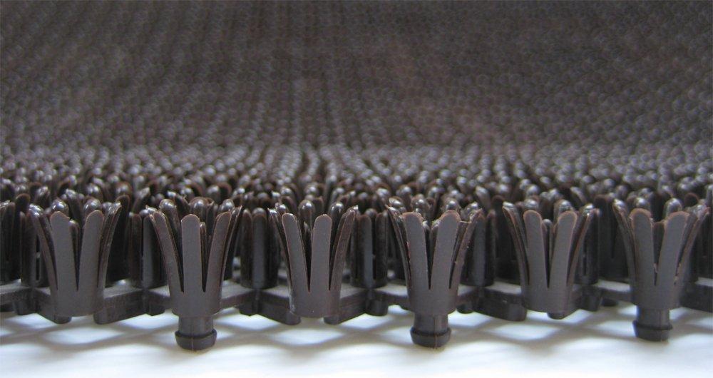 Fußabstreifer Rasenmatte für Außenbereiche (Blau     57x86 cm) modular erweiterbare, robuste Bürstenmatte - Höhe 17 mm - gegen groben Schmutz, Sand, Steinchen und Nässe B00KG7JJQI Fumatten 1b14f2