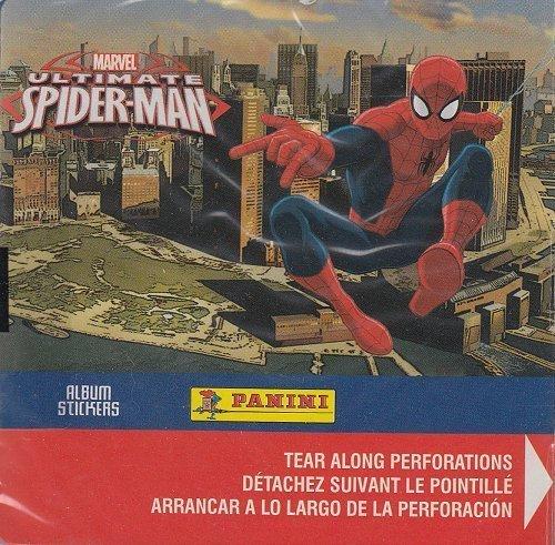 Panini Marvel Ultimate Spider-Man Album Sticker Box
