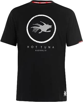 Hot Tuna Mens Crew T-Shirt Lighweight Comfortable Breathable