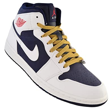 NIKE Air Jordan 1 PHAT Mid -Olympic - 364770-400 - Mens SZ.