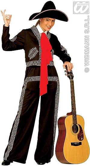 Desconocido Disfraz de cantante mejicana para mujer: Amazon.es ...