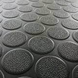 Rubber Cal Coin-Grip Flooring and Rolling