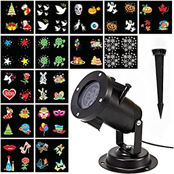 Amazon Com Anphsin Projector Lights 15 Pattern Lens