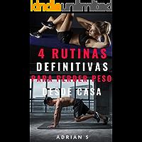 4 RUTINAS DEFINITIVAS PARA PERDER PESO  DESDE CASA: Baja de peso en la cuarentena
