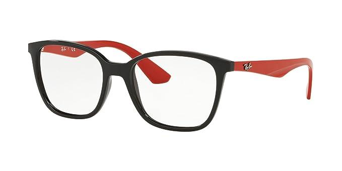 7b1df4fc9e5f3 Amazon.com  Ray-Ban Men s RX7066 Eyeglasses Black 54mm  Clothing