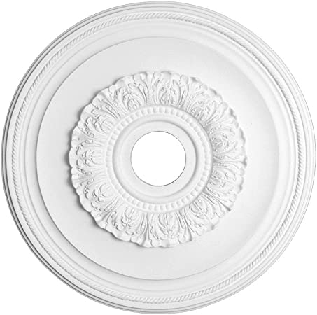 Bristol 23 5//8 Ceiling Medallion with 4 Center Hole