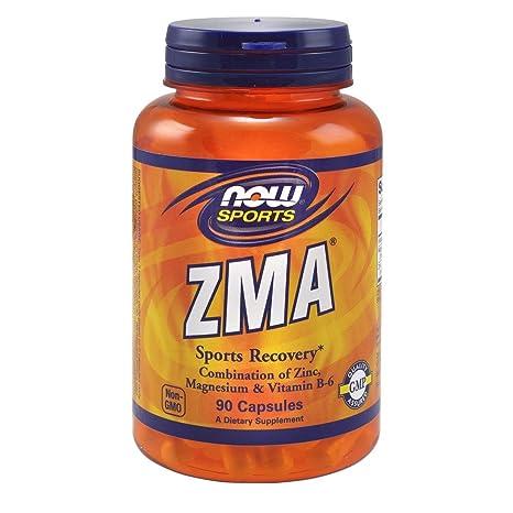 NOW Foods - ZMA 800 mg. - 90 cápsulas