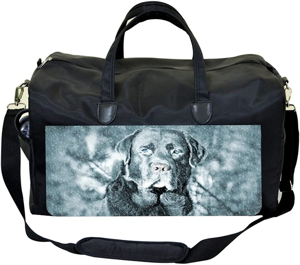 Dog In The Snow Sports Bag