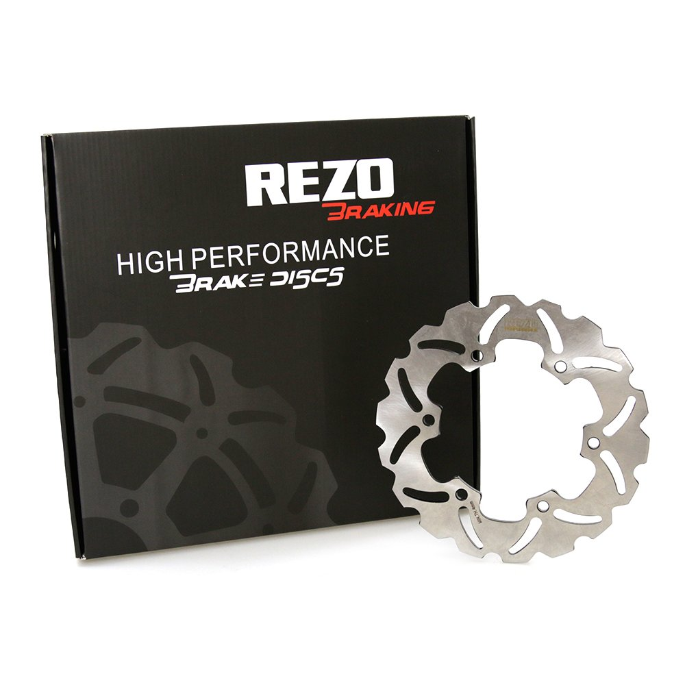 YZF-R6 99-02 Yamaha YZF-R1 02-03 Rezo Wavy Stainless Steel Rear Brake Disc