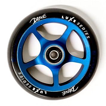Drone Luxe - Serie 120 mm rueda para patinete - Sapphire: Amazon.es: Deportes y aire libre