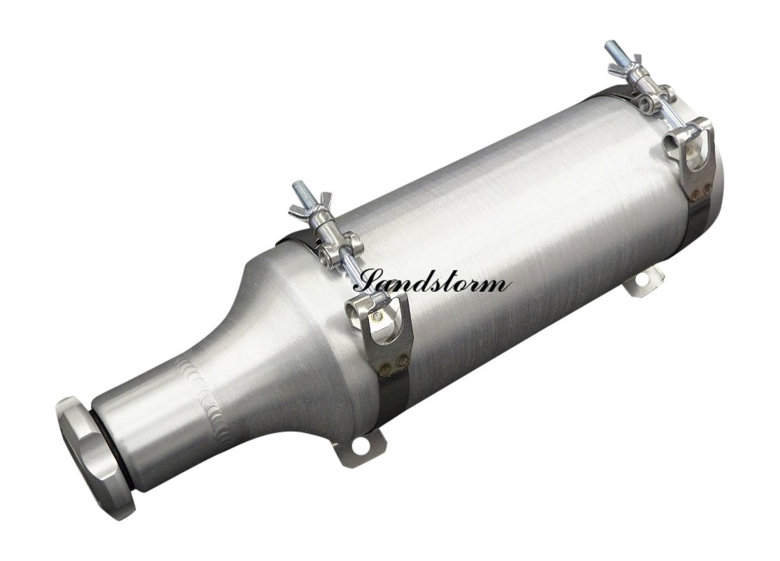 Sandstorm 4x10 BAM Fuel Bottle/Tube - 1/2 Gallon - with stainless steel brackets - Made in the USA!