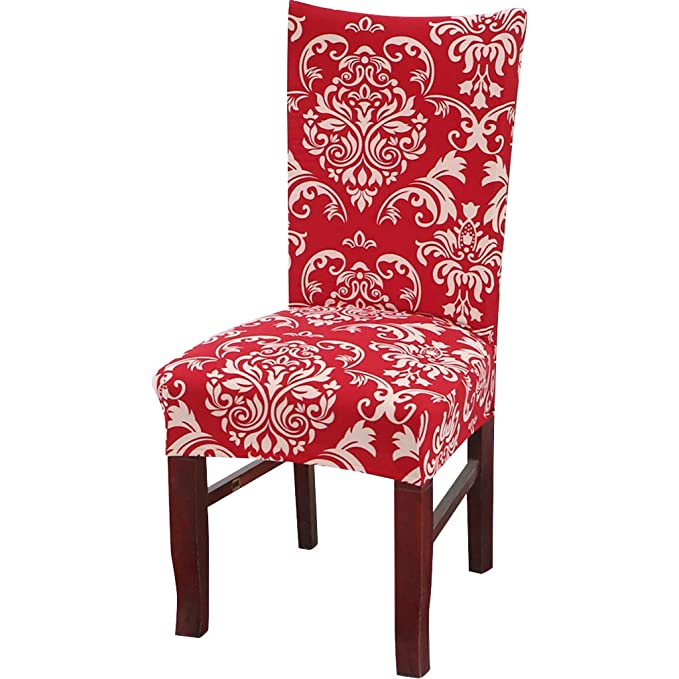Amazon.com: Chair Covers Home Supplies Christmas Home High Chair ...
