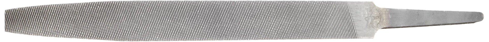 PFERD Hand File, American Pattern, Double Cut, Half-Round, Medium, 12'' Length, 1-1/8'' Width, 11/32'' Thickness