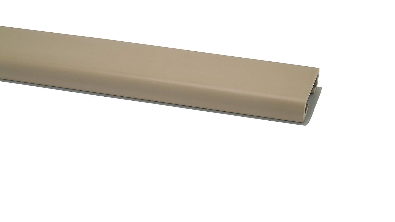 PVC Handlauf Treppenhandlauf Gel/änder Kunststoffhandlauf Gummi 40x8mm Braun