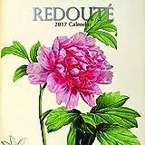 """Artwork by Pierre Joseph Redouté 2017 Monthly Wall Calendar, 12"""" x 12"""""""