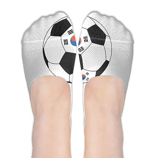 Amazon Com Womens Korean Football Flag No Show Socks Thin Low Cut