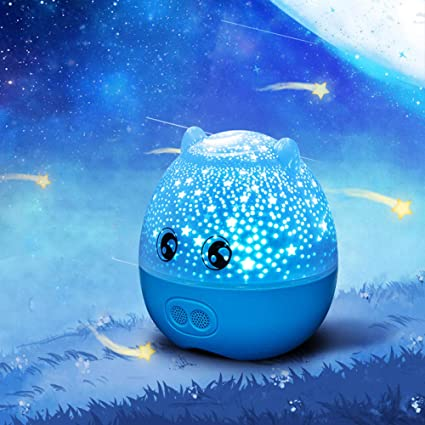 QUANWU Proyector De Estrellas, Altavoz Bluetooth, Luz Nocturna ...