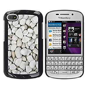 TopCaseStore / la caja del caucho duro de la cubierta de protección de la piel - Nature Beautiful Forrest Green 197 - BlackBerry Q10