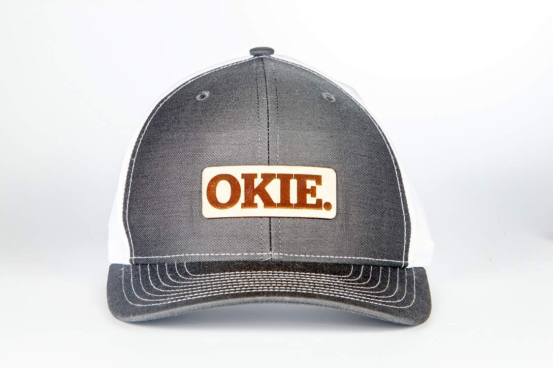 2b69fb1fb98 Amazon.com  Stoked Hats - Handmade OKIE Pride!! Boomer! Sooner! Unique  Custom-Made Patch Comfortable Snapback Design Hats