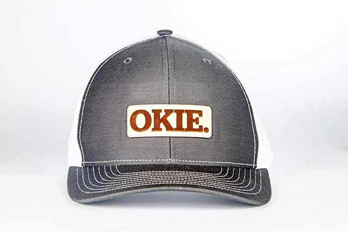 623f38336d3 Amazon.com  Stoked Hats - Handmade OKIE Pride!! Boomer! Sooner! Unique  Custom-Made Patch Comfortable Snapback Design Hats