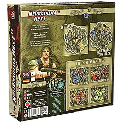 Neuroshima Hex 3.0 Board Game: Toys & Games